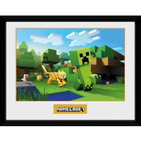 Minecraft Ocelot Chase Collector Print - Minecraft Gifts