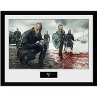 Vikings Blood Landscape Collector Print - Vikings Gifts