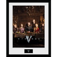 Vikings Table Collector Print - Vikings Gifts