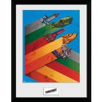 Thunderbirds are go Hazard Ships Collector Print