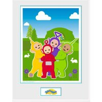 Teletubbies Time For Teletubbies Framed Collector Print - Teletubbies Gifts