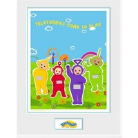 Teletubbies Come To Play Framed Collector Print - Teletubbies Gifts