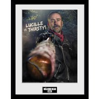 The Walking Dead Negan Thirsty Collector Print