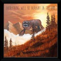 Weezer Alright Framed Album Print - Art Gifts