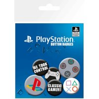 Playstation Classic Badge Pack - Playstation Gifts