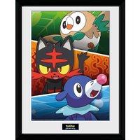 Pokemon Alola Partners Collector Print - Pokemon Gifts