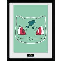 Pokemon Bulbasaur Face Collector Print - Pokemon Gifts