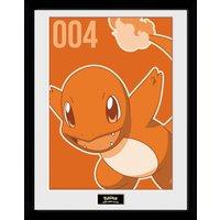 Pokemon Charmander Mono Collector Print - Pokemon Gifts