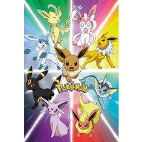 Pokemon Eevee Evolution Maxi Poster - Pokemon Gifts