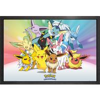 Pokemon Eevee Framed Maxi Poster - Eevee Gifts