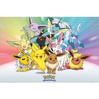 Pokemon Eevee Maxi Poster - Eevee Gifts