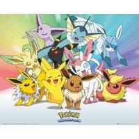Pokemon Eevee Mini Poster - Eevee Gifts