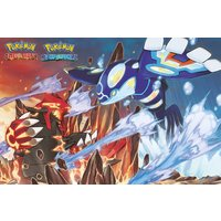Pokemon Groudon and Kyogre Maxi Poster - Pokemon Gifts