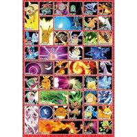Pokemon Moves Maxi Poster - Pokemon Gifts