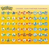 Pokemon Partner Pokemon Mini Poster - Pokemon Gifts