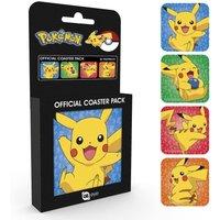 Pokemon Pikachu Coaster Pack - Pokemon Gifts