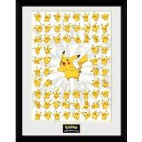 Pokemon Pikachu Collector Print - Pokemon Gifts