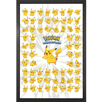 Pokemon Pikachu Framed Maxi Poster - Pokemon Gifts
