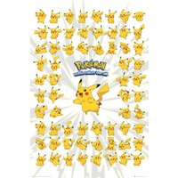 Pokemon Pikachu Maxi Poster - Pokemon Gifts