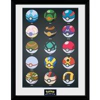 Pokemon Pokeballs Collector Print - Pokemon Gifts