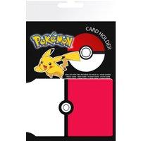 Pokemon Pokerball Travel Pass Card Holder - Pokemon Gifts