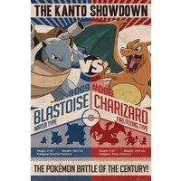 Pokemon Red v Blue Maxi Poster - Pokemon Gifts