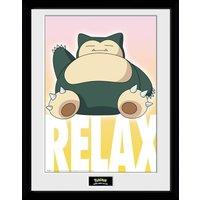 Pokemon Snorlax Collector Print - Pokemon Gifts