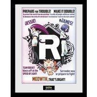 Pokemon Team Rocket Collector Print - Pokemon Gifts