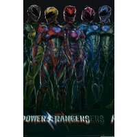 Power Rangers Movie Group Maxi Poster - Power Rangers Gifts