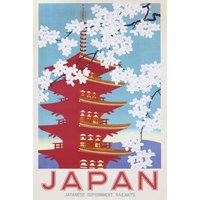 Japan Railways Maxi Poster - Japan Gifts