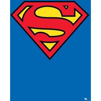Superman Classic Logo Maxi Poster - Superman Gifts