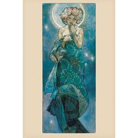 Mucha Moon Maxi Poster - Art Gifts