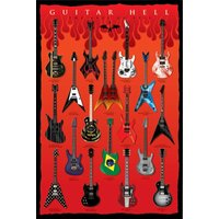 Guitar Axes Of Hell Maxi Poster - Art Gifts
