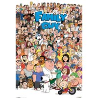 Family Guy Characters Maxi Poster - Family Guy Gifts