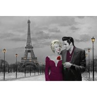 Paris Sunset Chris Consani Maxi Poster - Poster Gifts