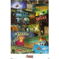 Adventure Time Episodes Maxi Poster - Adventure Time Gifts