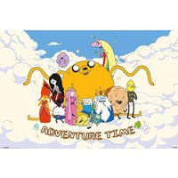 Adventure Time Cloud Maxi Poster - Adventure Time Gifts