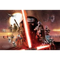 Star Wars Episode 7 Galaxy Maxi Poster - Star Wars Gifts