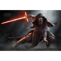 Star Wars Episode 7 Kylo Ren Crouching Maxi Poster - Star Wars Gifts