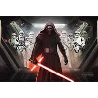 Star Wars Episode 7 Kylo Ren & Stormtroopers Maxi Poster - Star Wars Gifts
