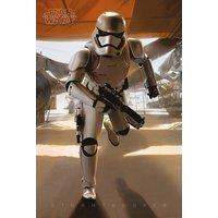 Star Wars Episode 7 Stormtrooper Running Maxi Poster - Star Wars Gifts