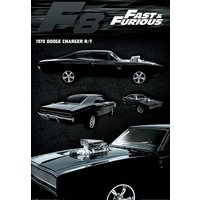 Fast & Furious Dodge Charger Maxi Poster