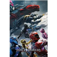 Power Rangers Movie Charge Maxi Poster - Power Rangers Gifts