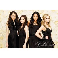 Pretty Little Liars Black Dresses Maxi Poster - Pretty Little Liars Gifts