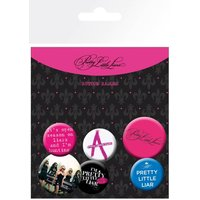 Pretty Little Liars Mix Badge Pack - Pretty Little Liars Gifts
