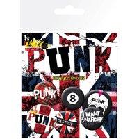 Punk Union Jack Badge Pack - Punk Gifts