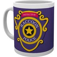 Resident Evil Racoon Police Mug - Police Gifts