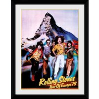 Rolling Stones Tour 76 Collector Print - Rolling Stones Gifts