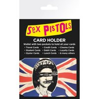 Sex Pistols God Save the Queen Travel Pass Card Holder - Sex Pistols Gifts