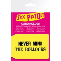 Sex Pistols Never Mind Travel Pass Card Holder - Sex Pistols Gifts
